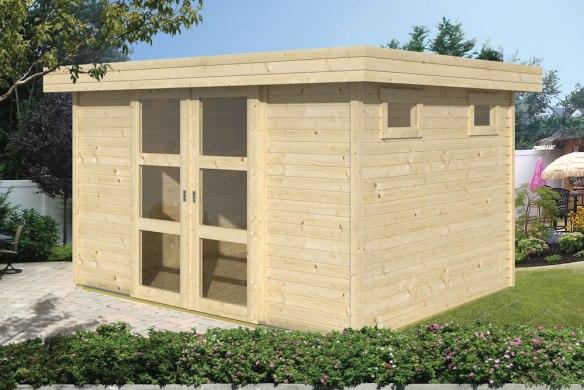 The Oscar 19mm Log Cabin