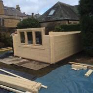 Log Cabin Window Fitting