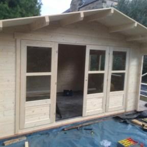Cabin Doors Installed