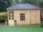 Agnes Log Cabin Completed Installation