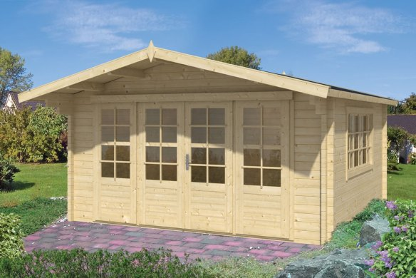 Blackpool 58mm Log Cabin