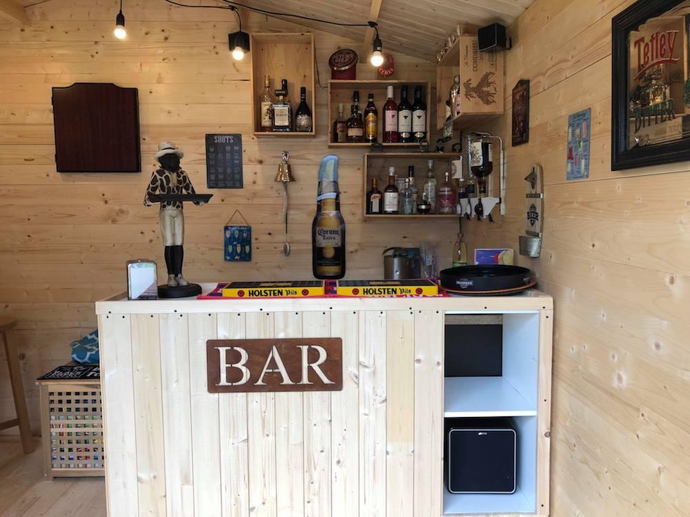 Hedendaags Log Cabin Pubs | Tuin : Tuindeco Blog OT-75