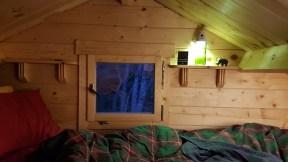 Berlin Log Cabin - Upper Level