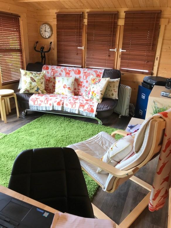 Blackpool Log Cabin Office