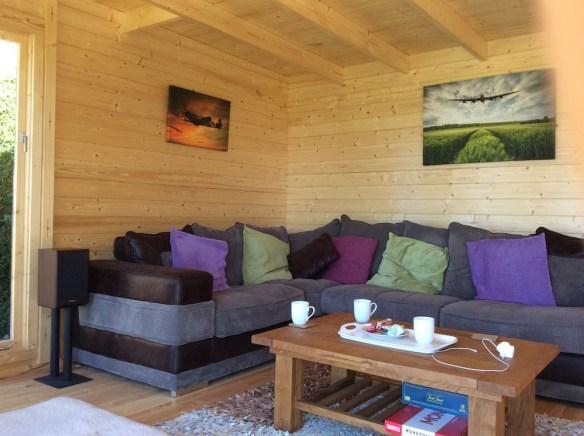 Yorick Garden Office Log Cabin