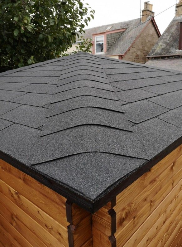 Pyramid Roof Shingles
