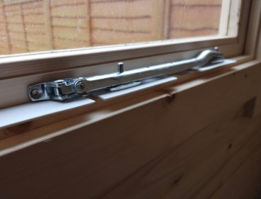 Log Cabin Window Latches
