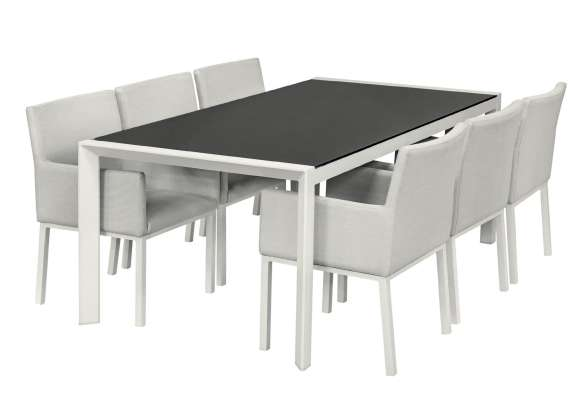 Montgomery Aluminium Dining Set