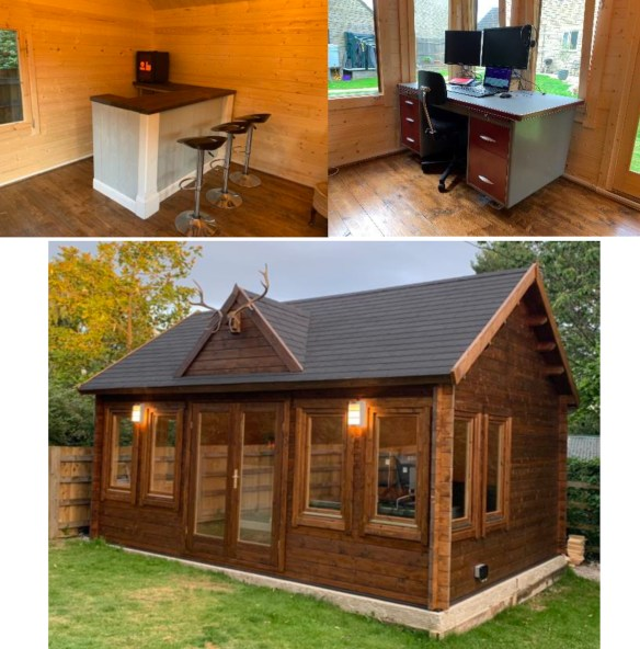 Clockhouse Garden Office Finish