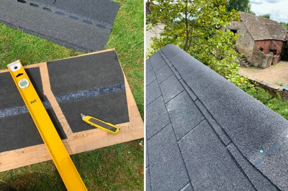 Roof Shingle Capping