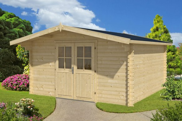 Palma Log Cabin measuring 4.0 x 4.0m