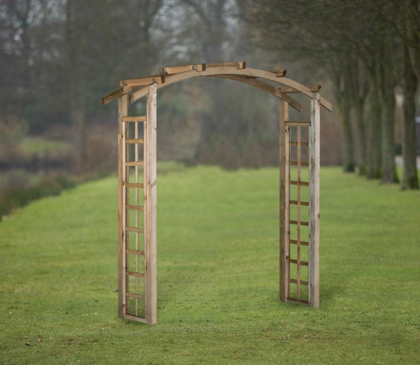 Curved Garden Arch 180cm Wide