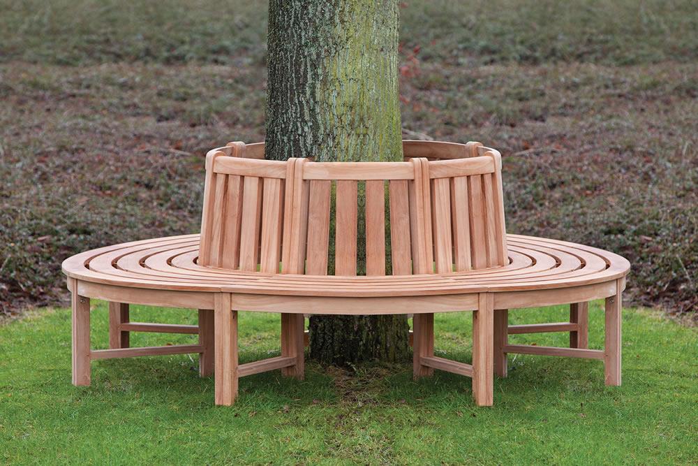 Teak Tree Seat