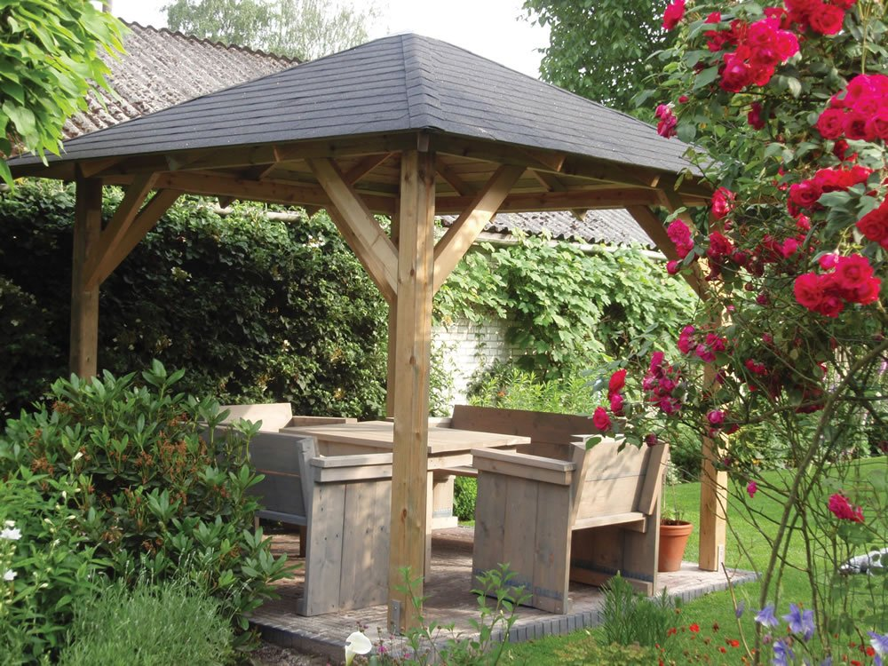 Outdoor Gazebo Kiosque De Jardin - Décoration de maison idées de ...