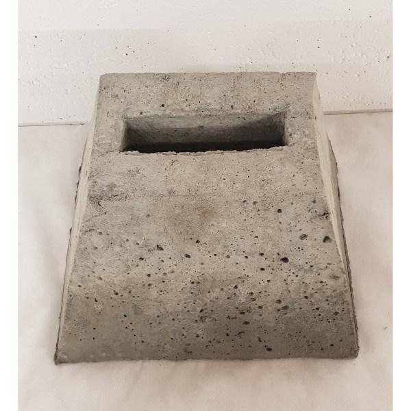 grendelblok dubbele tuinpoort beton