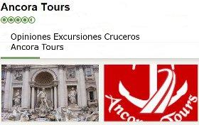 Excursiones para Cruceros Ancora Tours TU Italia comentarios
