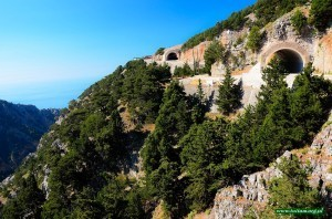 Kreta - w drodze do Aradeny. Okolice wąwozu Imbros