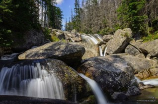 Wodospad na Studenkim Potoku