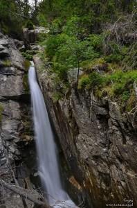 Obravsky wodospad