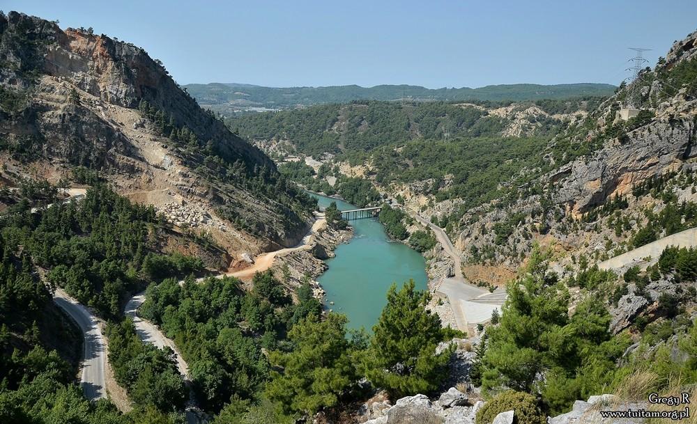 Turcja zielony kanion, Green Canyon