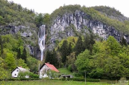 wodospady w Słowenii