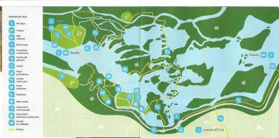 krka zwiedzanie, Mapa Krka, Krka - raj wodospadów