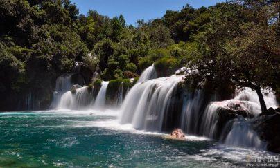 Krka, wodospady, Krka zwiedzanie, Krka - raj wodospadów