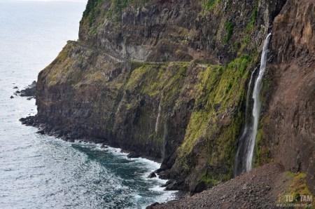 Bridal Veil Falls, Madera, Madeira