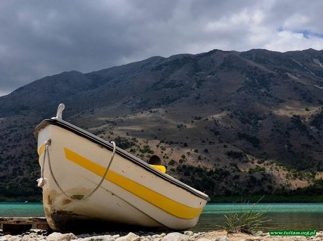 KRETA - jezioro Kournas