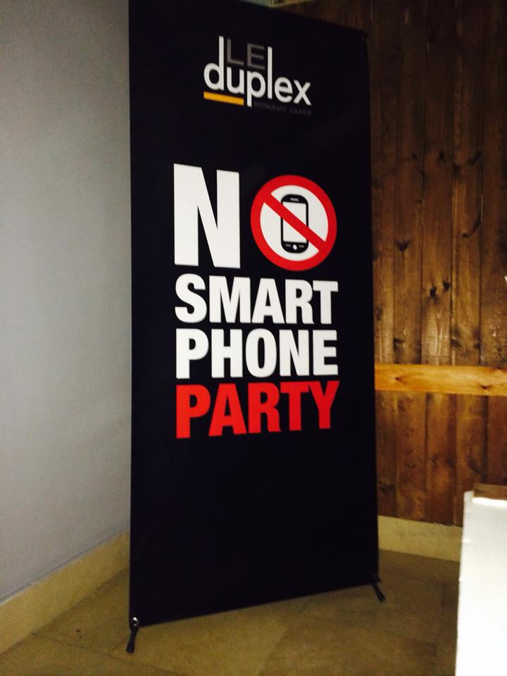 No Smartphone Party