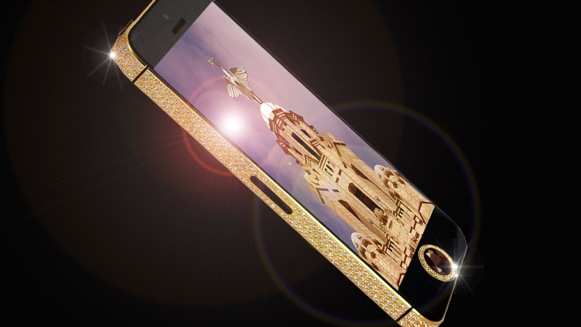 Gold-and-Black-Diamond-iPhone-5