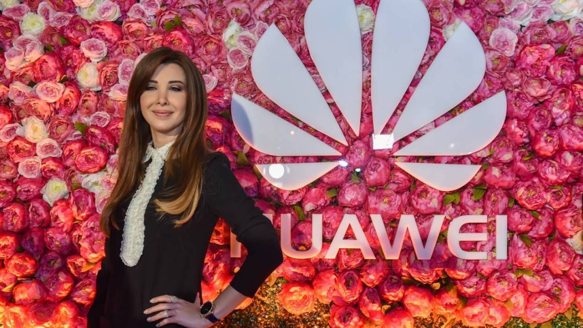 huawei_brand_ambassador_nancy_ajram_unveiling_the_huawei_lady_watch_for_the_first_time_ever