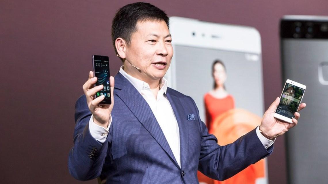 Richard Yu, le PDG de Huawei Consumer Business Group