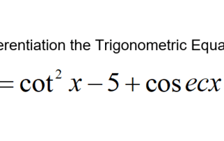 a-math-differentiation-trigonometric-equation-involving-cot-x-and-cosec-x