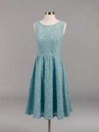 Lace bridesmaid dress teal BM007-Teal