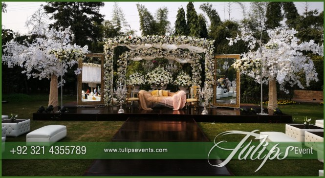 The Great Outdoor Indian Wedding Stage Decoration Ideas
