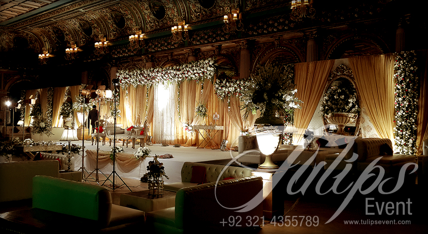 The best wedding stage decorator in lahore pakistan for Wedding planner decoration