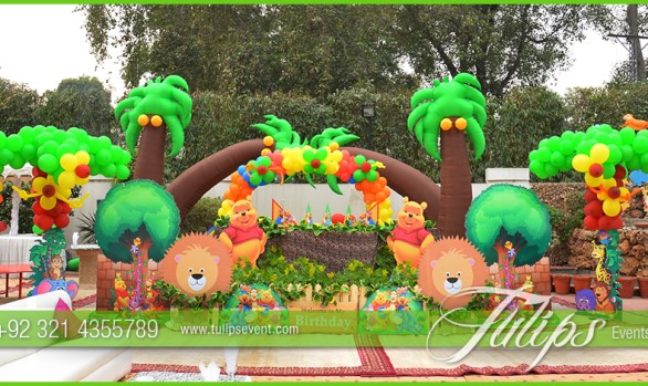 jungle zoo theme party