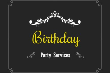 Birthday Event Planning