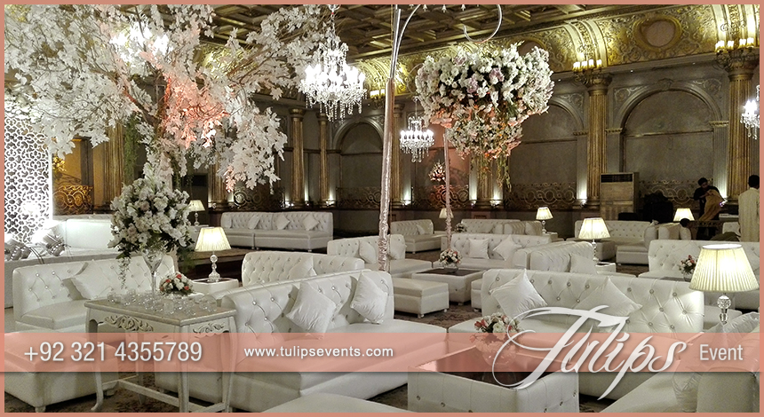 Pink white Pakistani wedding stage setup ideas by Tulips EventsWedding Archives   Page 3 of 6   Tulips Event Management. Pakistani Wedding Room Decoration. Home Design Ideas