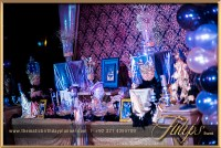 Gold Royal Blue Sweet 16 Themed party ideas in Pakistan 04 ...