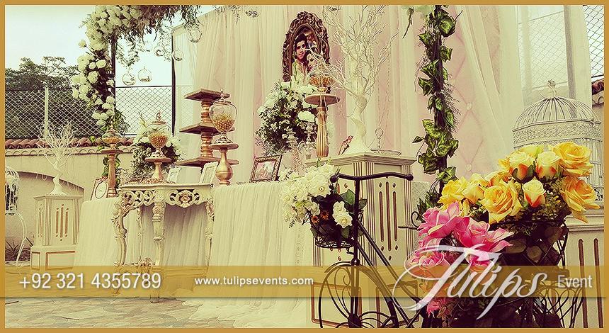 First Wedding Anniversary Decoration Tulips Event Management