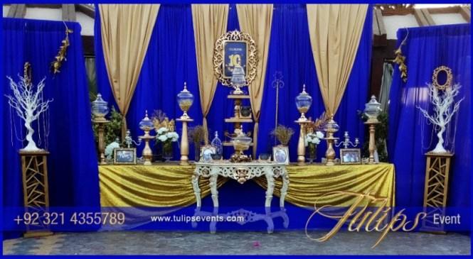 Blue Gold Baby Shower Via Kara S Party Ideas Karaspartyideas Com Cake Supplies