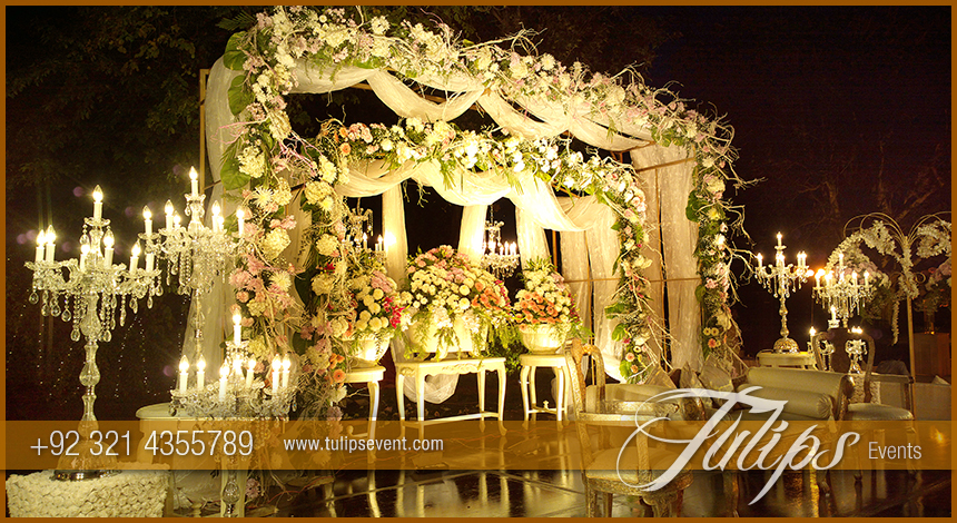 top walima stage decoration photos tulips events in Pakistan 08