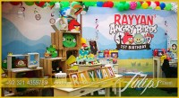 Angry Birds Party decoration - Tulips Event Management
