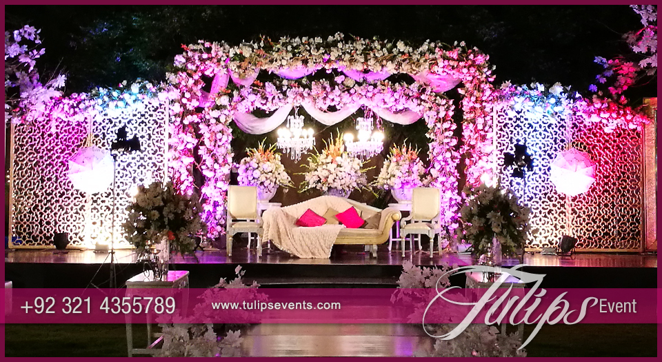 Wedding archives page 2 of 7 tulips event management outdoor pakistani reception junglespirit Gallery
