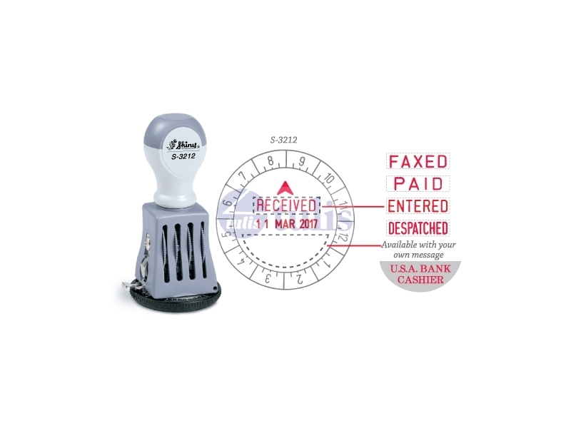SHINY CHOP S-3212 TIME & DATE STAMP - Largest office supplies online store in Malaysia
