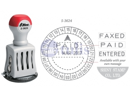 SHINY CHOP S-3624 TIME & DATE STAMP - Largest office supplies online store in Malaysia