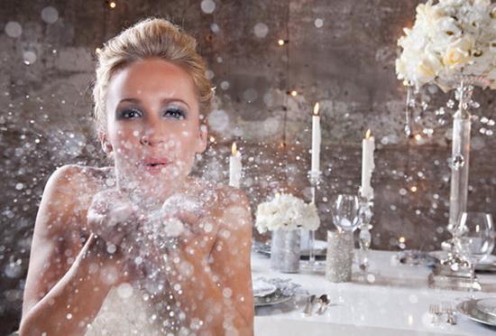 Snow Wedding Ideas