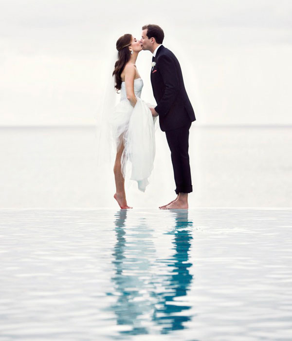 beach weddings  Tulle  Chantilly Wedding Blog